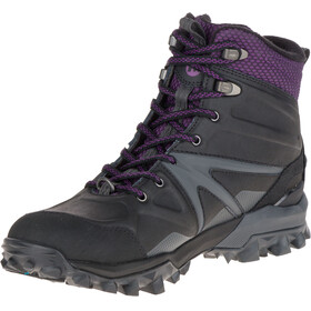Merrell W's Capra Glacial Ice+ Mid Wtpf Shoes Black